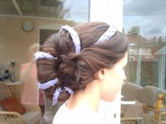 Padme's Lake Dress Shell Style Wig Construction