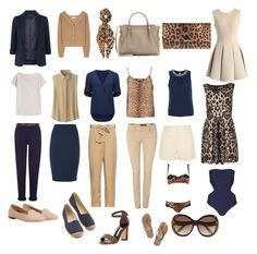 """""""Leopard-accent capsule wardrobe"""" by marcuajim ❤ liked on Polyvore featuring Monsoon, Closed, Feather & Stone, Chloé, Nina Ricci, Uniqlo, Dorothee Schumacher, Forever New, Equipment and Salsa"""