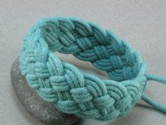 Sailor Knot Bracelet on etsy Learn how to make it here: http://www.etsy.com/storque/how-to/how-tuesday-sailors-knot-bracelets-9314/