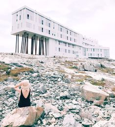Newfoundland Part III: Fogo Island — Mallory Jemima Stanton Fogo Island Inn, Beach Bonfire, Newfoundland And Labrador, Island Tour, Us Beaches, Weekend Getaways, East Coast, North America, Places To Go