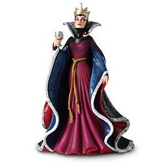 NEED IT!!! - Disney Evil Queen Couture de Force Figurine by Enesco | Disney StoreEvil Queen Couture de Force Figurine by Enesco - Disney Couture de Force is a fully-sculptured designer figure collection re-imagining our reigning princesses and vampy villains in haute couture. Exacting detail, faux jewels and opalescent paints bring each sculpture to life.