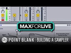 Max for Live Tutorial: Building a Sampler Part 1 - YouTube