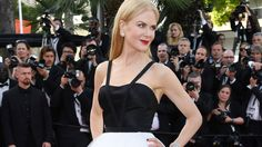 The Academy Award winner channels Hollywood royalty on the Cannes red carpet.