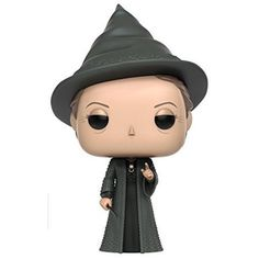 Funko Harry Potter Professor McGonagall Pop Figure From harry potter, professor mcgonagall, as a stylized pop vinyl from funko. Stylized collectable stands 3 ¾ inches tall, perfect for any harry potter fan. Collect and display all harry potter pop vinyls. Harry Potter Jk Rowling, Harry Potter Pop Vinyl, Figurine Harry Potter, Philosopher's Stone Harry Potter, Objet Harry Potter, Harry Potter Toys, Bellatrix Lestrange, Harry Potter Action Figures, Ron Weasley