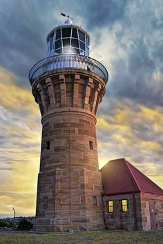 The Barranjoey Lighthouse at Palm Beach,  Lighthouses of New South Wales