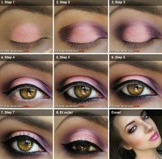 Eyes shadow tutorial