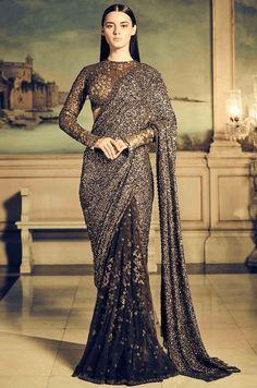 11 Latest Saree Trends for 2018 Lehenga Sari, Saree Dress, Anarkali, Bridal Lehenga, Sabyasachi Sarees Price, Lehenga Saree Design, Designer Sarees Wedding, Saree Wedding, Latest Designer Sarees
