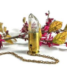 Clear Quartz Crystal Bullet
