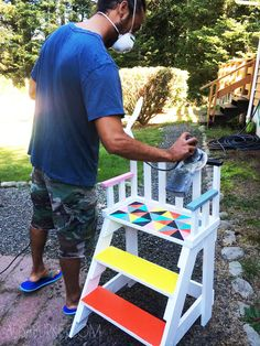 alisaburke: DIY toddler chair