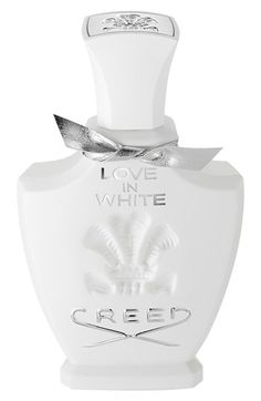 Creed 'Love in White' Fragrance available at #Nordstrom. Wore this on my wedding day and NEED more