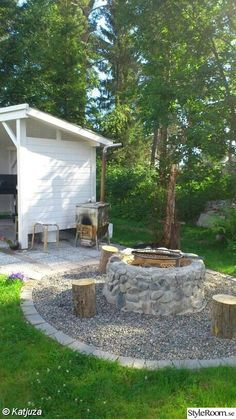 AWESOME #bricolage #DIY #Fire #Firepit #Firepit area