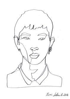 Tumblr fashion illustration pinterest drawings art for Art of minimal boris