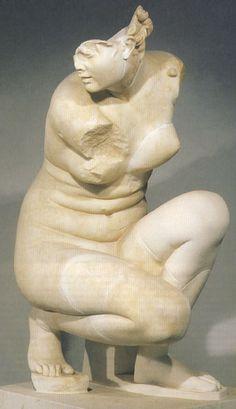 Marble statue of Aphrodite. Rome, Museo Nazionale Romano