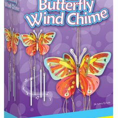 Creativity for Kids Wind Chimes, Core, Creativity, Butterfly, Kids, Products, Young Children, Boys, Children