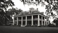 New Orleans Louisiana Black and White Photography Houmas