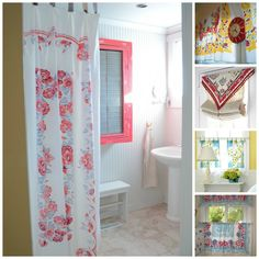 Curtains Made From Tablecloths   Vintage Tablecloth Curtains