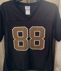 65d760cc6 NFL Team Apparel New Orleans Saints Jeremy Shockey  88 Jersey Womens Size M