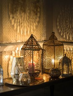 Marks and Spencer candle holders moroccan inspired lanterns Marks & Spencer Are Killing It At the Moment and I'm Thrilled - Swoon Worthy Moroccan Lamp, Moroccan Lanterns, Moroccan Style, Moroccan Bedroom, Moroccan Interiors, Ramadan Kareem Pictures, Ramadan Images, Ramadan Crafts, Ramadan Decorations