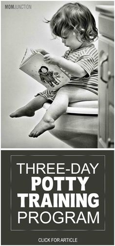 Potty Training in 3 Days: All Mom's Must need to know about the three-day potty training program and how to potty train your child in 3 days.