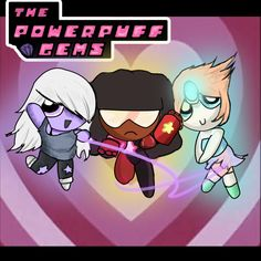 The Powerpuff Gems by tokyo-terror.deviantart.com on @deviantART