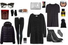 Keep it chic at the airport w/ luxe basics. #jnsq #styletips