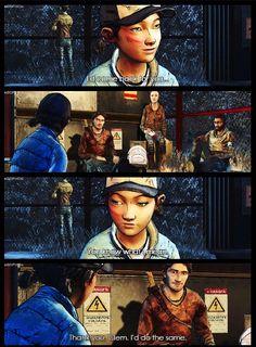 Nice Luke and Clementine's scene | The Walking Dead (Telltale Game) season 2 twdg #MyClementine