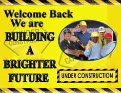 construction themed classroom -