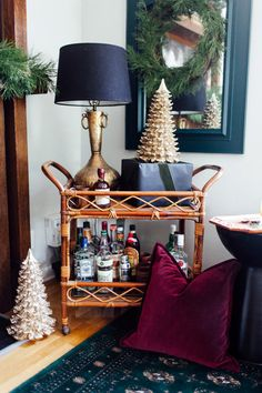 Holiday Decor with Moody and Rich Colors