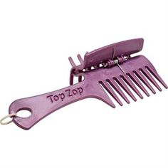 This amazing new gadget is a real must for plaiting. The TopZop Ultimate Plaiting Comb allows you to keep your horses mane under control while you can concentrate on making your plaits neat.
