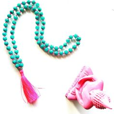★ Happy Meditation ★ How about this pinky tassel necklace?
