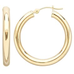 Find hoops in Every size & Every finish during #MayisGoldMonth! Click to see more selections from @Bonton #MayisGoldMonth #Gold #JumpinThroughHoops #MIGM