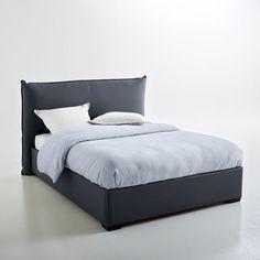 Lit complet, tête de lit rembourrée façon gros ore La Redoute Interieurs