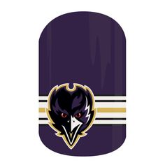 Now my nails can support my favorite football team! Baltimore Ravens Nail Wraps from the NFL Collection By Jamberry!!  #BaltimoreRavensJN