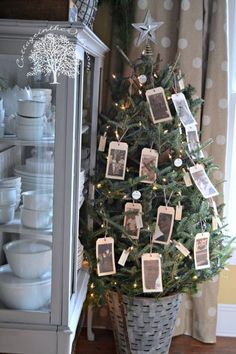 Popular Pin for Christmas ::: How to create a special Memory Tree #diy