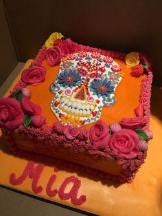 Best Photo of Skull Birthday Cake . Skull Birthday Cake Sugar Skull Cake Halloween In 2018 Birthday Cake 30, Birthday Cakes For Teens, Birthday Cake Toppers, Mexican Birthday, Choc Fudge Cake, Sugar Skull Cakes, Sugar Skulls, Birthday Cake Pinterest, Day Of The Dead Cake