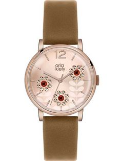 Orla Kiely Betty Rose Gold Plated Strap Watch OK2090