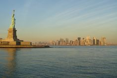 The Statue of Liberty located in New York Harbour. What's your top tip for a visit to New York?