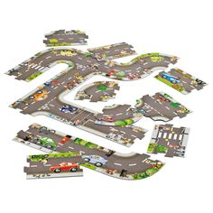 Road Puzzle - Independent's Top 10 Puzzle & Game - Children's Games - Toys & Gifts