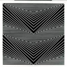 Franco Grignani (Italian, 1908 Studio di tensioni, Oil on canvas, 96 × 96 cm. Trippy Photos, Corset Sewing Pattern, Logo Sketches, Design Art, Graphic Design, Geometric Mandala, Photo Logo, Op Art, Adult Coloring Pages