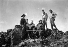 1905, Unicorn Peak, Tattoosh Range, Washington. Photo by Asahel Curtis