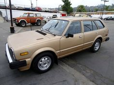 1981 Honda Civic CVCC Station Wagon