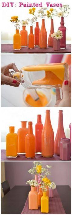 Guarda tus envases de cristal para este genial proyecto de reciclaje. ¡Con Lanco tendrás uno de cada color para toda ocasión!