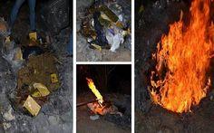 PGR incinera diversos narcóticos en Yucatán