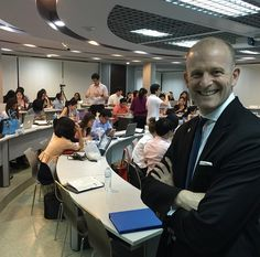 Time to teach finance at Masters in Marketing at Thammasat University . Awesome students!