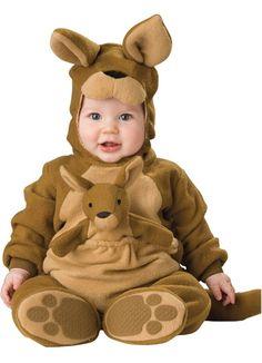 Brown Kangaroo Cute Animal Infant Baby Costume