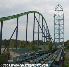 Kingda Ka, Tallest Roller Coaster in the World.