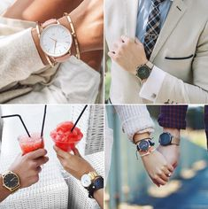 His and Hers Matching Watches For Stylish Minimalistic Couples!
