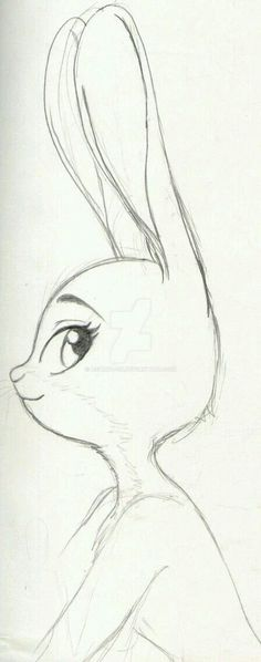 """""""cloudyloudy:"""" Judy By: Ashura-ou """"Beautiful indeed . - : """"cloudyloudy:"""" Judy By: Ashura-ou """"Beautiful indeed . Disney Drawings Sketches, Girl Drawing Sketches, Art Drawings Sketches Simple, Pencil Art Drawings, Sketch Art, Drawing Ideas, Drawing Disney, Easy But Cool Drawings, Easy Drawings Of Girls"""