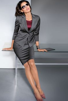 Blazer Feminino Its Best Attire Business 12 Business Dresses, Business Outfits, Business Attire, Business Fashion, Look Office, Office Looks, Office Outfits For Ladies, Executive Woman, Madeleine Fashion