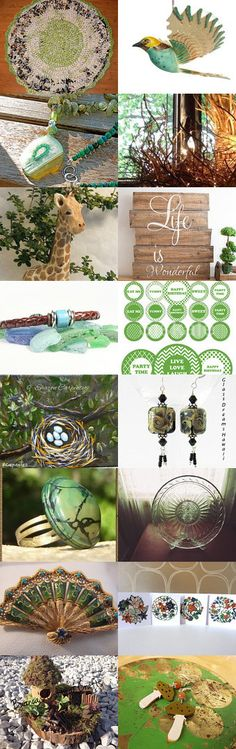 *** Look at the birds of the air: they neither sow nor reap... *** by Maija Masena on Etsy--Pinned+with+TreasuryPin.com